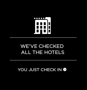 We've checked all the hotels